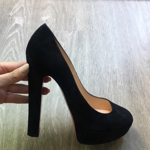 8120b861ae2a Christian Louboutin Shoes - Black Christian Louboutins BiBi pumps